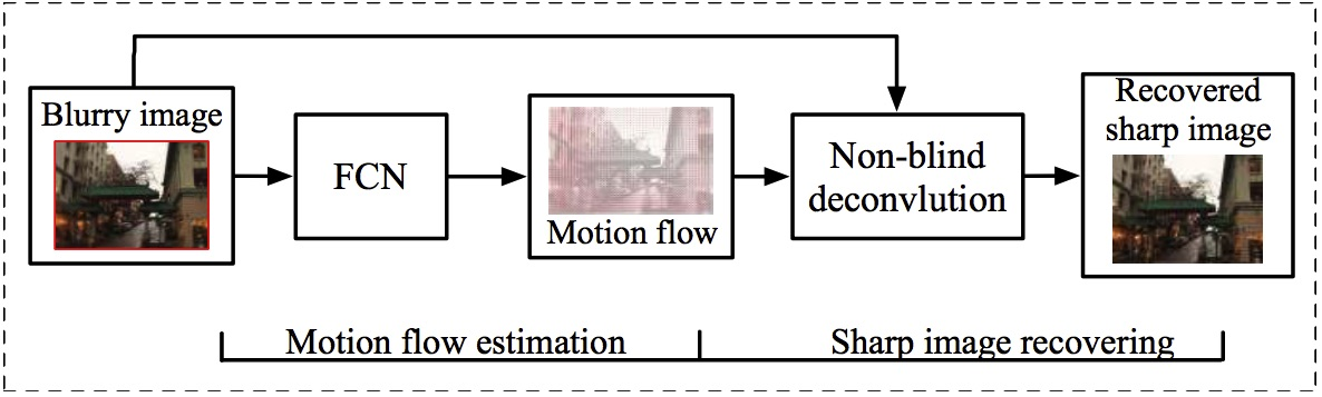 Blur to Motion Flow